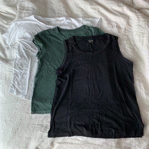 Madewell T-Shirt and Tank Size Extra Small Bundle
